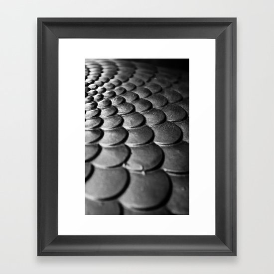 Scale Away Framed Art Print
