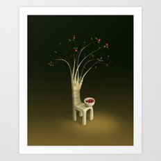 Strawberry Guava Tree Art Print