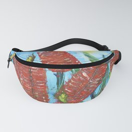 Rustic Bottle Brush Fanny Pack