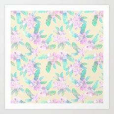 Tahitian Garden {I} Art Print
