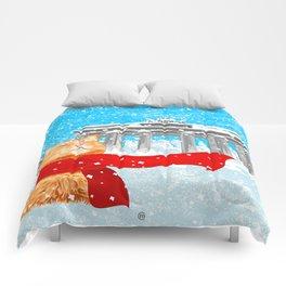 Berlin Snowcat Comforters
