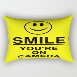 Smile You're On Camera Rectangular Pillow
