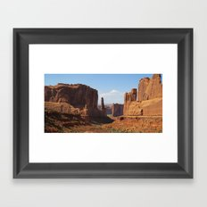 Park Avenue - Arches National Park Framed Art Print