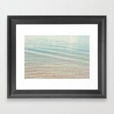 On the Water Framed Art Print