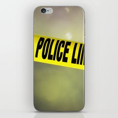 Police Line Do  Not Cross iPhone & iPod Skin