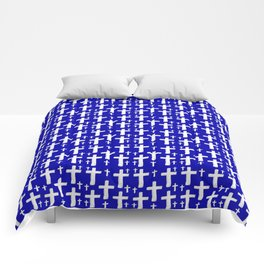 Jerusalem Cross 6 Comforters