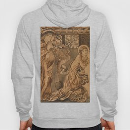 "Edward Burne-Jones ""The Annunciation"" Hoody"