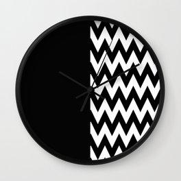 SAWTOOTH ASYMMETRY Wall Clock