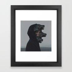 Wolf Pack Framed Art Print