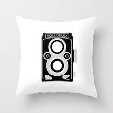 Rolleiflex 35C Throw Pillow