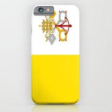Flag Of Vatican City iPhone 6s Slim Case