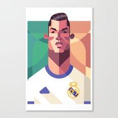 CR7   Los Merengues Canvas Print
