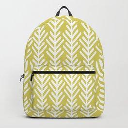 Olive Arrows Backpack