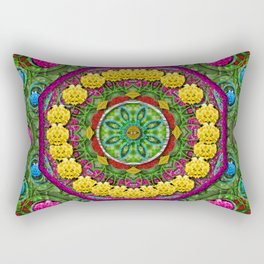 Bohemian chic in fantasy style Rectangular Pillow
