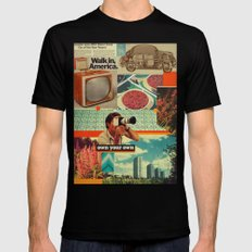 Retrica LARGE Mens Fitted Tee Black