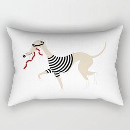 Whippet Thief Rectangular Pillow