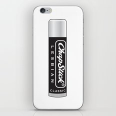 CHAPSTICK LESBIAN iPhone & iPod Skin