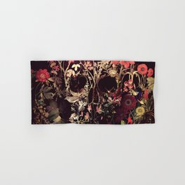 Bloom Skull Hand & Bath Towel