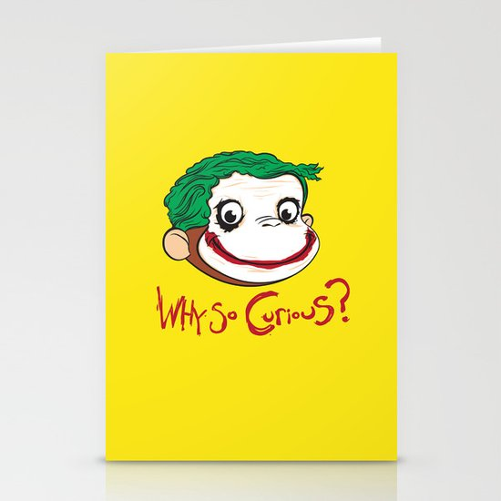 Why So Curious? Stationery Cards