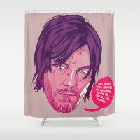 The Walking Dead - Daryl Dixon Shower Curtain