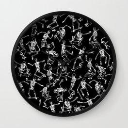 Grim Ripper BLACK Wall Clock