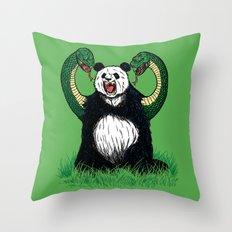 PANDAVIPERARMS Throw Pillow