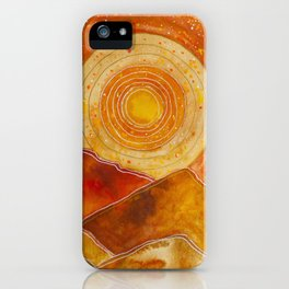Sunset w.02 iPhone Case
