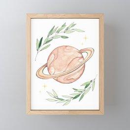 For Explorers Framed Mini Art Print