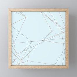 LIGHT LINES ENSEMBLE II Framed Mini Art Print