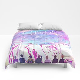bts dna rainbow Comforters