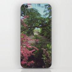 Garden Gazebo iPhone & iPod Skin