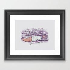 Golf Buddy Roger Framed Art Print