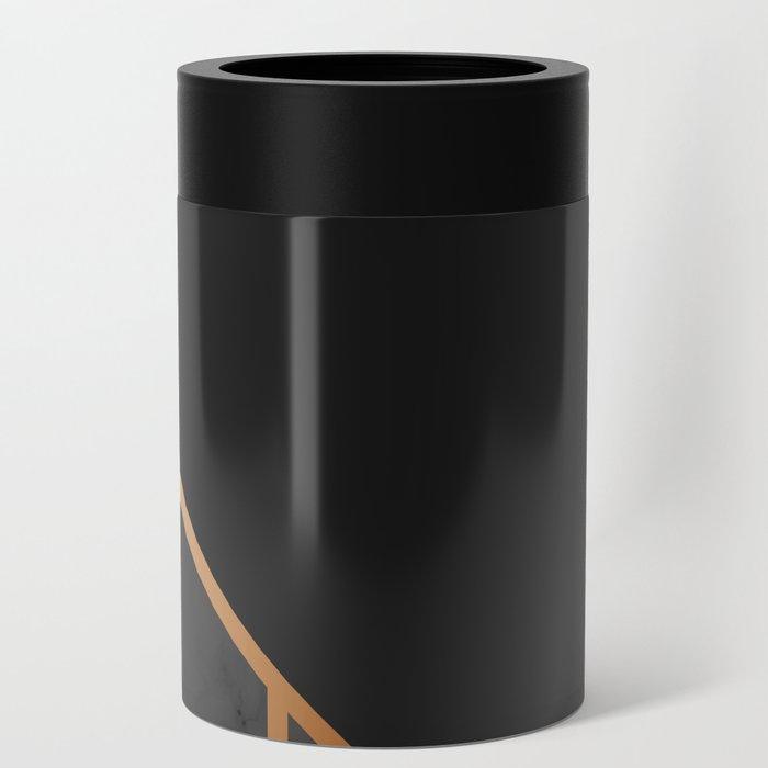 Black & Gold 035 Can Cooler
