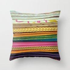 indian sarees Throw Pillow