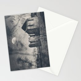 The Ruins of St Marys - Monochrome Stationery Cards
