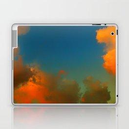 Orange and Blue Skies Laptop & iPad Skin