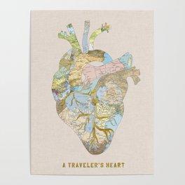 A Traveler's Heart Poster