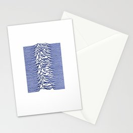 Unknown Pleasures Joy Division Stationery Cards