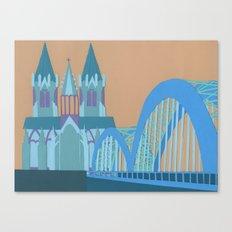 Hohenzollern Bridge Canvas Print
