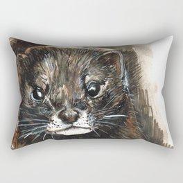 European Mink Rectangular Pillow