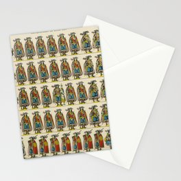 Musketeers KING SOLDIERS Stationery Cards