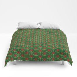 Spring Roses Pattern Comforters