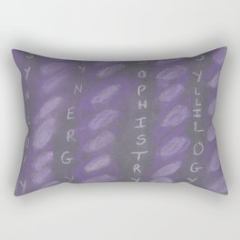 Word Play Rectangular Pillow