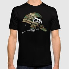 Game Over, Man! MEDIUM Black Mens Fitted Tee