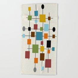 Mid-Century Modern Art 1.3 Beach Towel