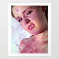 Face Paint Art Print