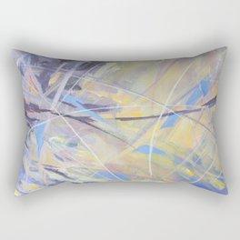 Swoopiness Fraction Rectangular Pillow
