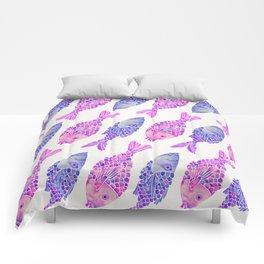 Indonesian Fish Duo – Mermaid Palette Comforters