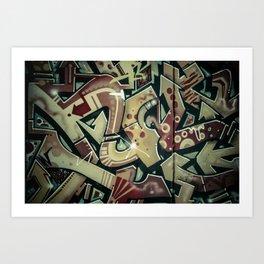 not_change_4 Art Print