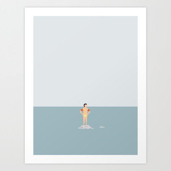 OCEAN SVØMMERE No.02 (Boy) by swenswenson